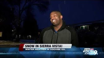 Snow in Sierra Vista!