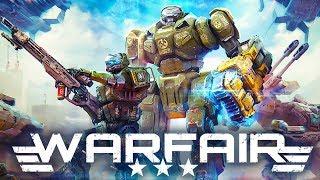 Warfair – мобильная тактика космического масштаба