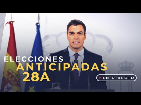 """Elecciones generales el 28 de abril: """"España debe continuar avanzando"""""""