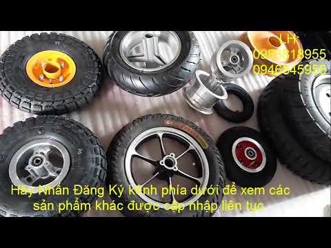 Các loại bánh xe để chế xe điện, xe 3,4 bánh, xe scoter, xe trẻ em