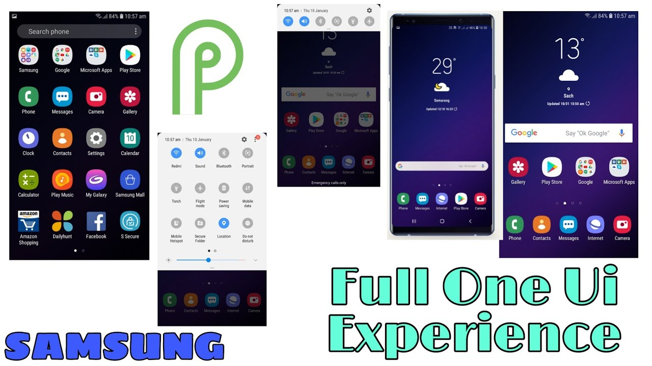 Full One Ui Samsung Experience ||One Ui Theme v2 2 Any Samsung Device  [HINDI]