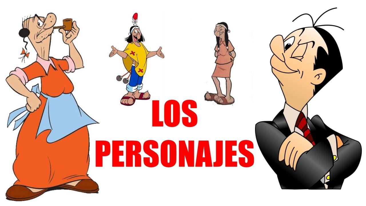 Patoruzu Los Personajes Youtube