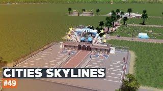 Cities Skylines #49 | Parking dla parku rozrywki