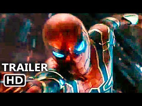"AVENGERS: INFINITY WAR ""Spiderman Iron Suit"" Trailer (2018) Iron Spider Movie HD"