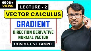 Gradient of a Scalar Field & Directional Derivative | Normal Vector