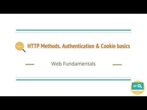 HTTP Methods. Authentication & Cookie basics