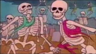Danse Macabre Camille Saint-Saëns 1980s cartoon, PBS elementary school music class