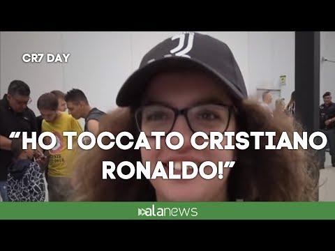 """CR7 Day, i tifosi: """"Speriamo ci porti la Champions"""""""