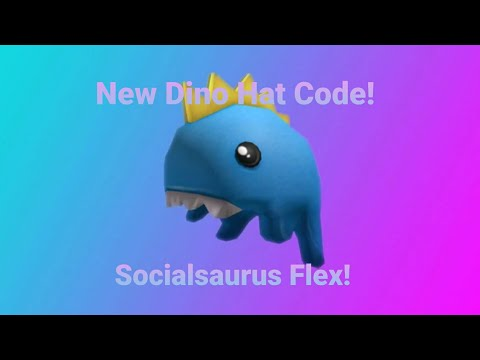 1mil Roblox Subscribers Exclusive Baby Dino Hat Expired New Dinosaur Hat Roblox Promocode Socialsaurus Flex Youtube