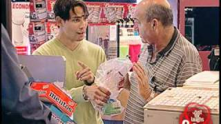 Blind Store Attendant Prank - Just For Laughs Gags