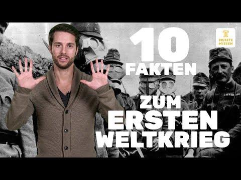 Erster Weltkrieg I Fakten und Verlauf I musstewissen Geschichte