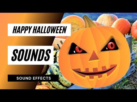 Happy Halloween Pumpkin - Sound Effect - Animation