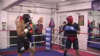 Full Chris Eubank Jr. Sparring Session Ahead Of Billy Joe Saunders Fight