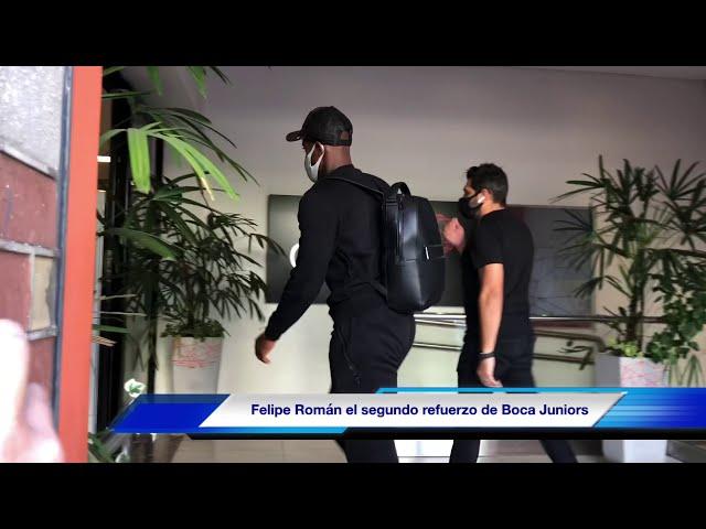 Felipe Román, el segundo refuerzo de Boca Juniors. El lateral colombiano firmará por 3 años.