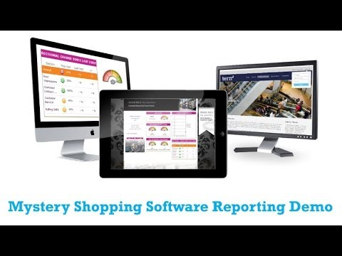 Mystery Shopping Reporting Software Demo (Tern)