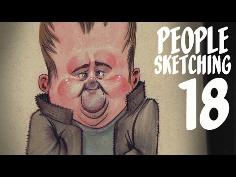 Adding Personality to Characters - people sketching episode 18