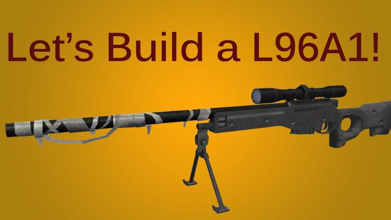 DIY wooden sniper rifle 53