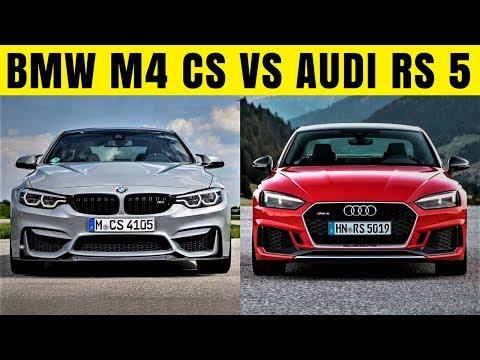 2018 Audi RS 5 Vs 2018 BMW M4 CS