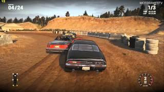 Next Car Game Early Access Pre-Alpha - Sandpit Race 24 Cars Gameplay