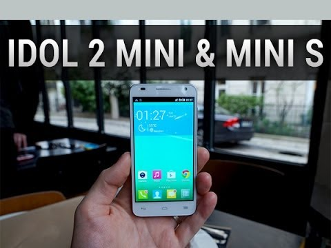 Alcatel One Touch Idol 2 Mini & 2 Mini S, prise en main - par Test-Mobile.fr