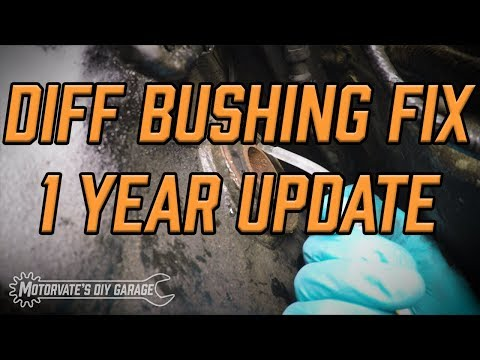 1 Year Later… $20 Differential Bushing Fix: Motorvate's DIY Garage Ep.33