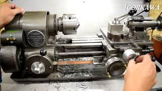 капитальный ремонт токарного станка ТВ16 часть 1