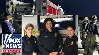 Women fire and police chiefs make history