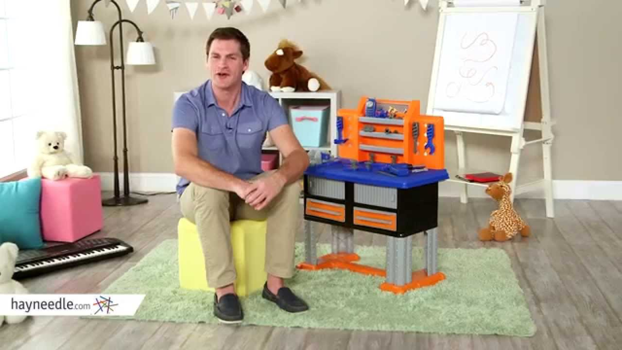 american plastic toys 38 piece deluxe workbench - product review
