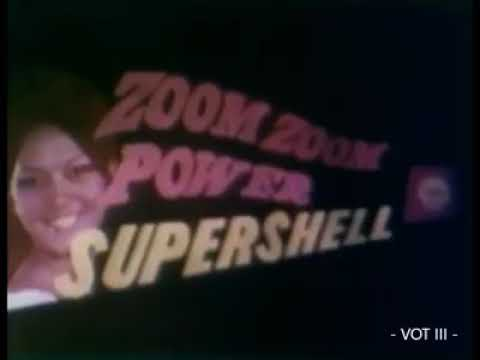 An earlier TV commercial for Shell 196970
