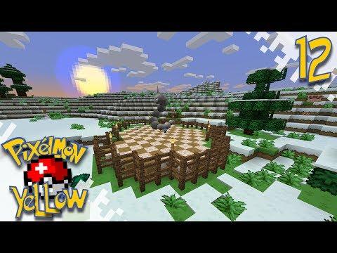 Pixelmon YELLOW!  - More Natural! - Ep12 (Minecraft Pokemon Mod)
