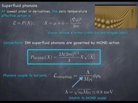 Is Dark Matter a Superfluid ? - Justin Khoury