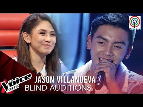 Jason Villanueva - Magkasuyo Sa Buong Gabi | Blind Audition | The Voice Teens Philippines 2020