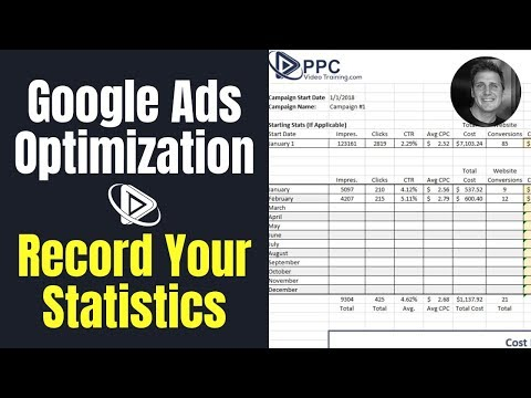 step-2-of-google-ads-optimization---record-your-ppc-statistics-|-ppc-training