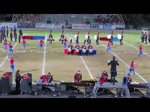 Wiregrass Ranch HS Marching Bulls @ 2017 Tarpon Springs Outdoor Music Festival - part 2 of 2