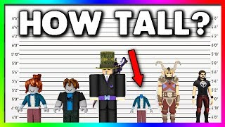 How Tall is a Roblox Avatar in REAL LIFE?