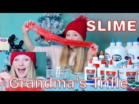 SLIME Uk & IRELAND / GRANDMA S OLD FASHIONED TRIFLE /ASMR