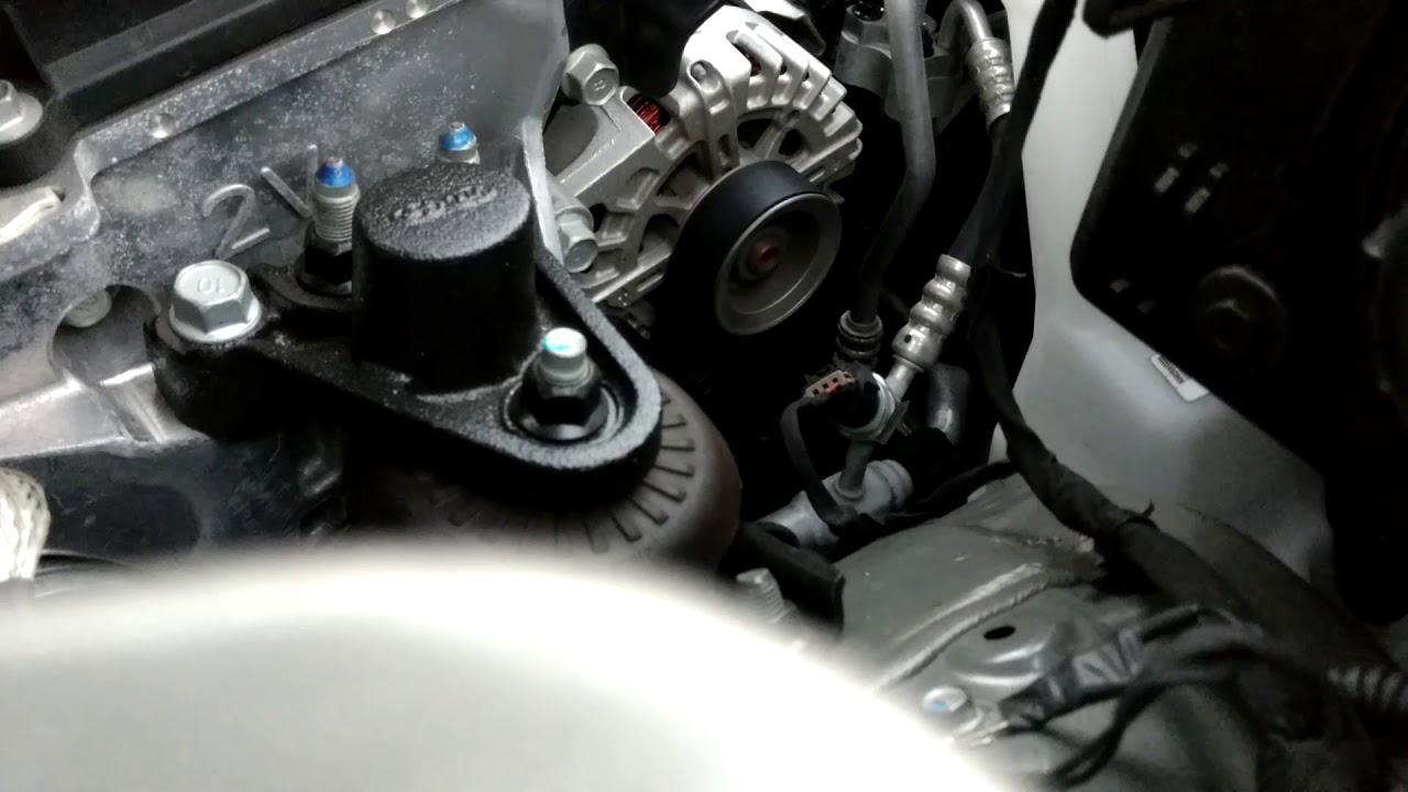 2017 Kia Soul Engine Start Under Hood Alternator