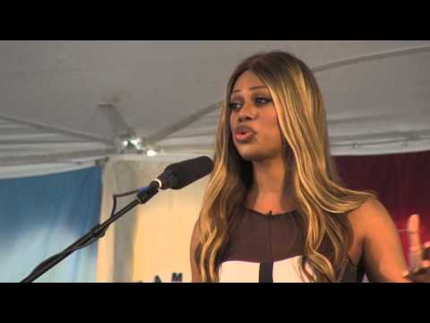 Laverne Cox • 2014 Commencement • Hampshire College