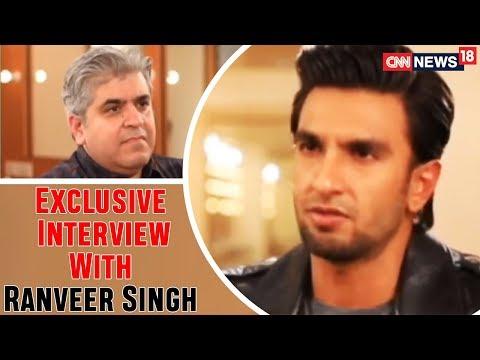 Ranveer On Padmaavat   Rajeev Masand Exclusive Interview With Ranveer Singh   CNN-News18