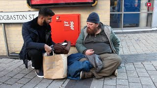 Helping The Homeless For Winter