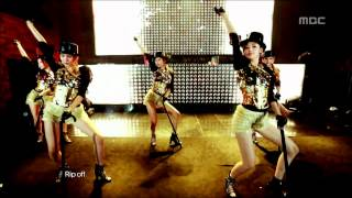 120623 [HD] After School - Rip Off, 애프터스쿨 - 립오프, Music Core