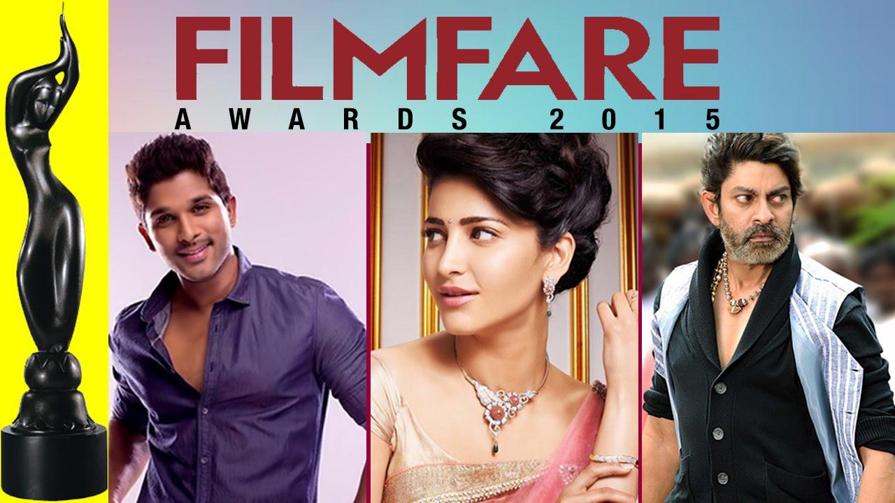 62nd Filmfare Awards 2015 Telugu | Glimpse of Full Show | Allu Arjun |  Shruti Haasan | Vikram Kumar