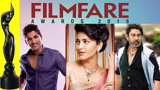 62nd Filmfare Awards 2015 Telugu | Glimpse of Full Show | Allu Arjun | Shruti Haasan | Vikram Kumar