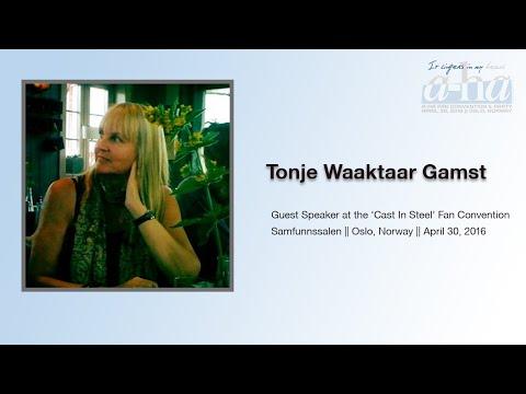'Cast In Steel' a-ha Fan Convention 2016 - Guest Speaker Tonje Waaktaar Gamst