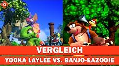 Der neue Jump-n-Run-König? | Vergleich: Yooka Laylee vs. Banjo-Kazooie
