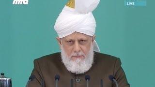 2016-07-22 Khalifat-ul-Masih II. (ra): Die Perlen der Weisheit