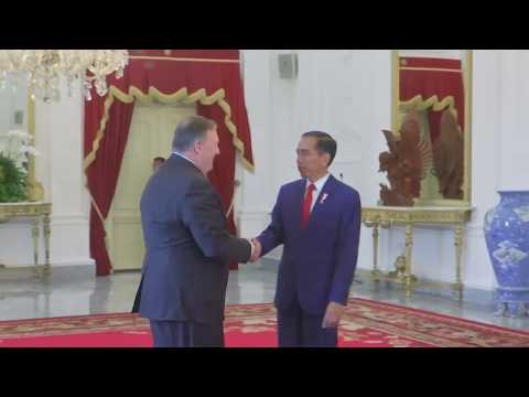 Secretary Pompeo Meets with Indonesian President Joko Widodo