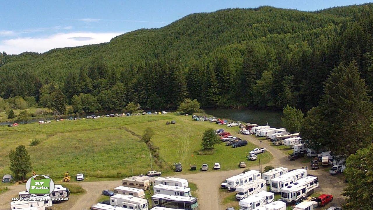Chinook Bend Rv Resort Lincoln County Oregon Youtube