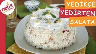 Yedikçe Yedirten Kuskus Salatası - Salata Tarifleri - Nefis Yemek Tarifleri
