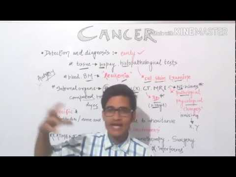 Cancer - Diagnosis and Treatment for all biology exams.